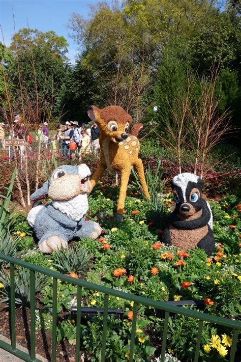 The 2016 Epcot International Flower And Garden Festival Epcot Flower And Garden Show