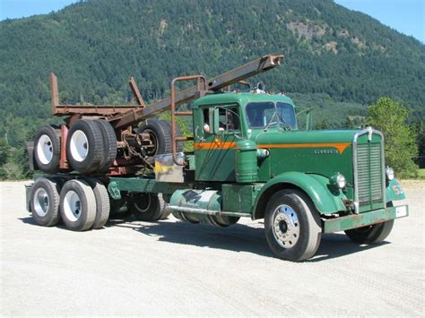 kenworth trucks canada 370 best images about log truck pictures on