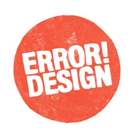 design error definition entrevista a error design dod magazine