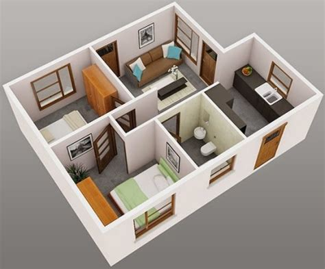 3d home design ideas 12 denah rumah minimalis 1 lantai tipe 36 3d