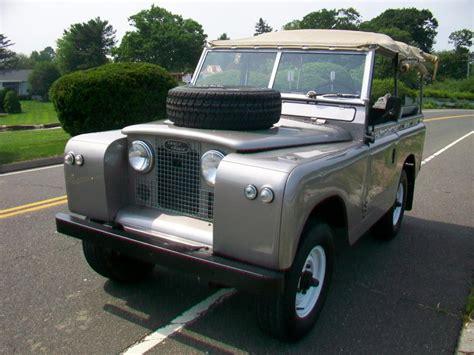 Home Interior Style 1965 Land Rover Series Iia 88 Antique Auto Sales