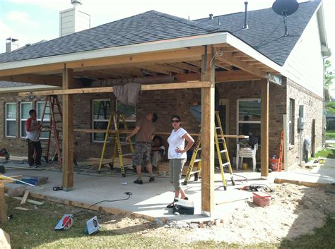 Patio Construction Ideas by Patio Cover In Houston Tx Hhi Patio Covers