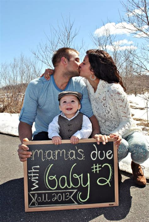 2nd Baby Pregnancy Announcement Ideas by Second Baby Announcement Idea Ideas For Quot Second