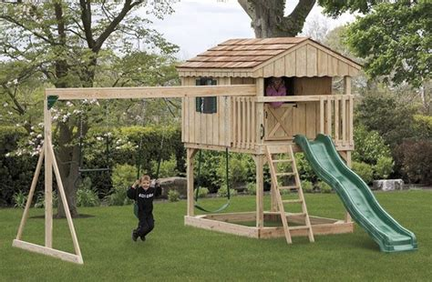 swing ps1 backyard playset plans playsets plans for free