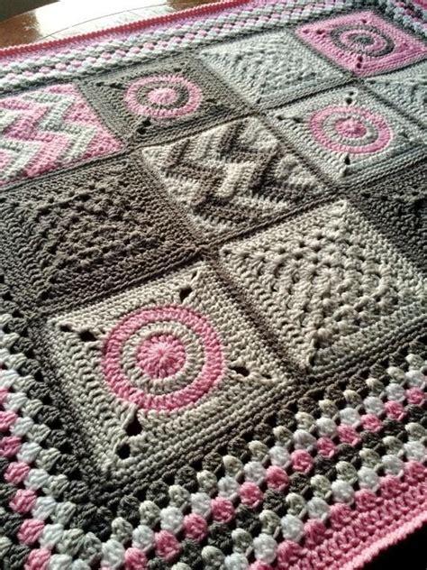 Patchwork Baby Blanket Pattern - modern patchwork blanket patchwork blanket patchwork