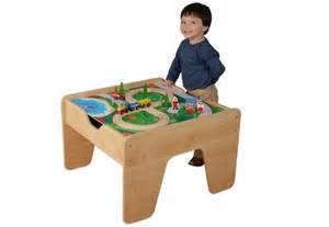 Small Train Table by Flip The Table Over To Reveal A Smooth Surface Ideal For