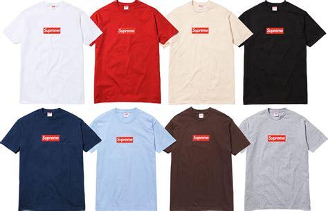 t shirt supreme supreme la marque de v 234 tements skate de new york peah
