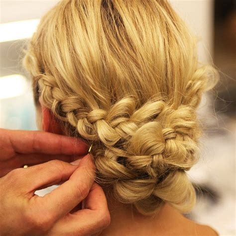 fall braid hairstyles lhuillier bridal fall 2014 braided hairstyles