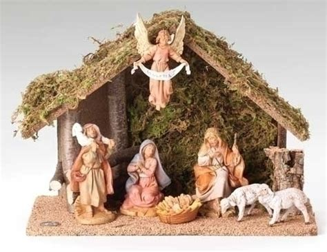 fontanini nativity set 7 piece 41607