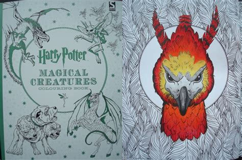 harry potter coloring book magical creatures harry potter magical creatures colouring book a review