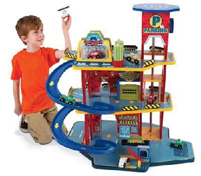 Garage Kid by Kidkraft Deluxe Garage Set Your Wooden Garage Play Set