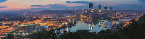 Colorful Pittsburgh sunrise   Pittsburgh Photographer