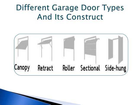 types of garage doors advantages and disadvantages of garage lift door types