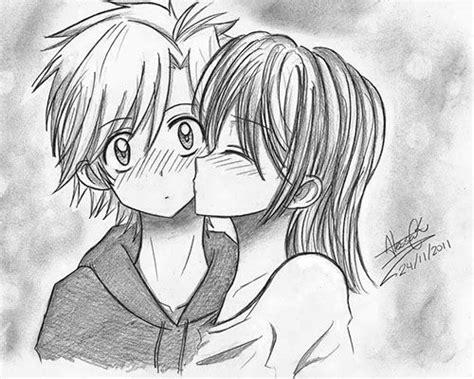 imagenes tristes de amor para dibujar animes de amor para dibujar beso en cachete romantico
