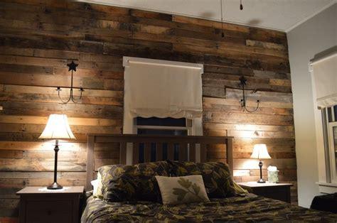 behind the bedroom wall characters pallet wood accent wall for the home pinterest other