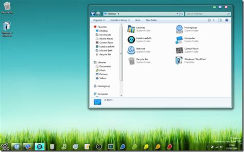download themes for windows 7 skull 26 awesome windows 7 themes