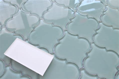 seaside arabesque glass mosaic tiles rocky point tile glass and mosaic tile store