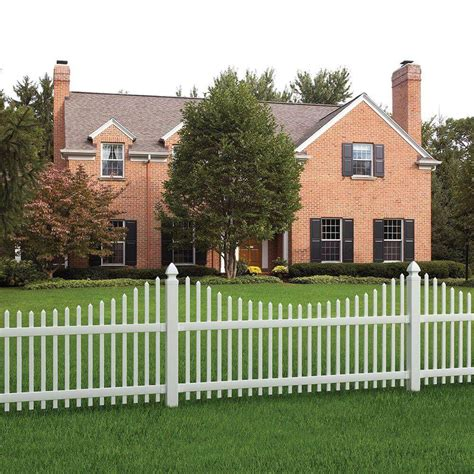 white backyard fence fence designs and ideas backyard front yard home fencing