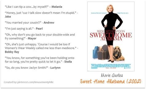 sweet home alabama 2002 quotes moviequotes
