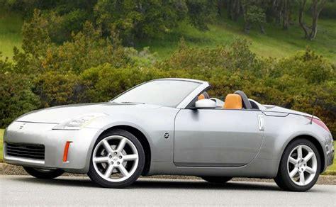 convertible nissan 350z 2004 nissan 350z roadster supercars net