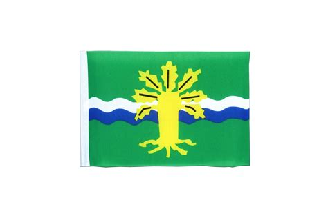 Nottinghamshire Flag Car Sticker