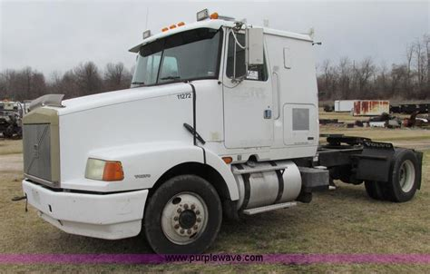 semi volvo truck for sale 1996 volvo wia semi truck item f4713 sold march 6