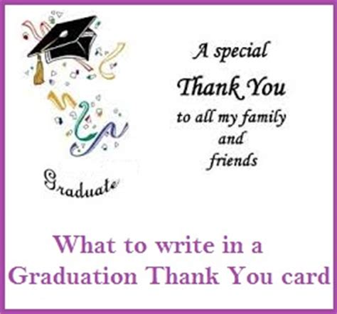 Thank You Messages For Graduation Thank You Cards
