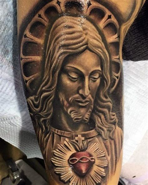 jesus face tattoos design 100 sacred designs for religious ink