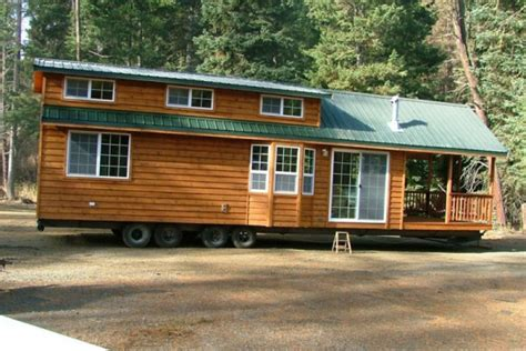 25 best ideas about house on wheels on pinterest tiny spacious cabin on wheels with large windows tiny house