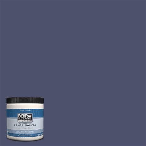 behr premium plus ultra 8 oz ppu15 18 vintage velvet interior exterior satin enamel paint
