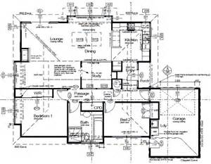 House Plans Drawings by The Milton 2 Bedroom Passive Solar Home Full Set
