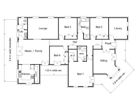 The Brisbane 171 Australian House Plans