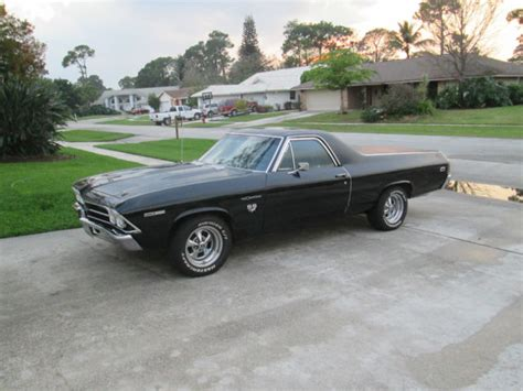 el camino the black seller of classic cars 1969 chevrolet el camino black