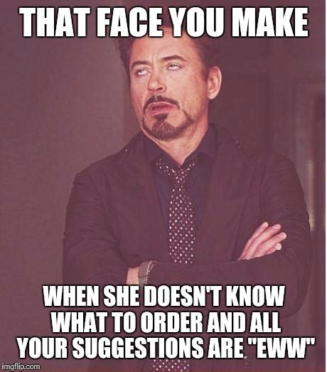 Eww Face Meme - face you make robert downey jr meme imgflip