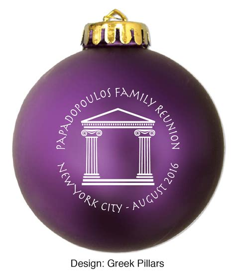family reunion favors family ornaments family tree ideas