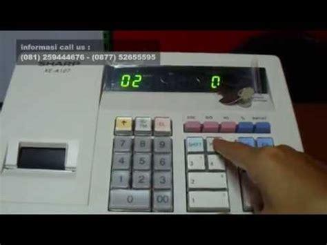 Mesin Kasir Cafe mesin kasir restoran cafe depot sharp xe a107 by