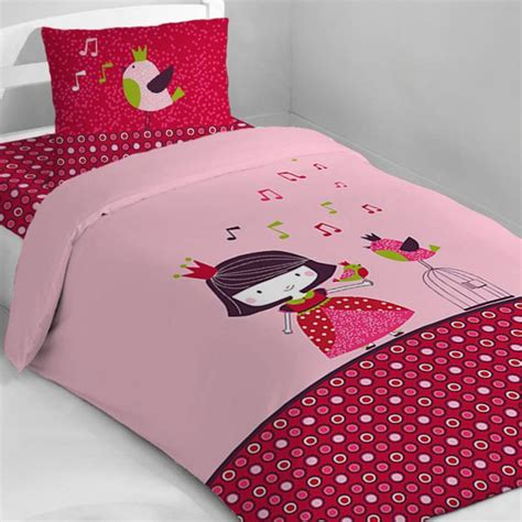Housse Couettes by Housse De Couette Fille Taie Oreiller