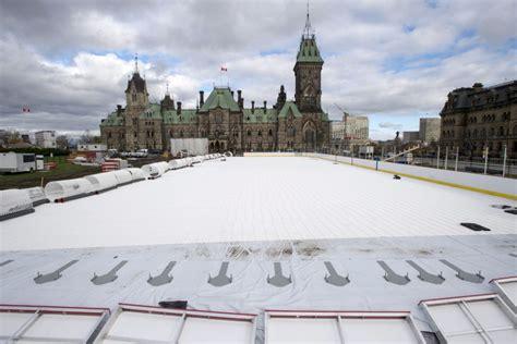 backyard hockey rink plans canada 150 rink to stay for february but hockey still a no no toronto star