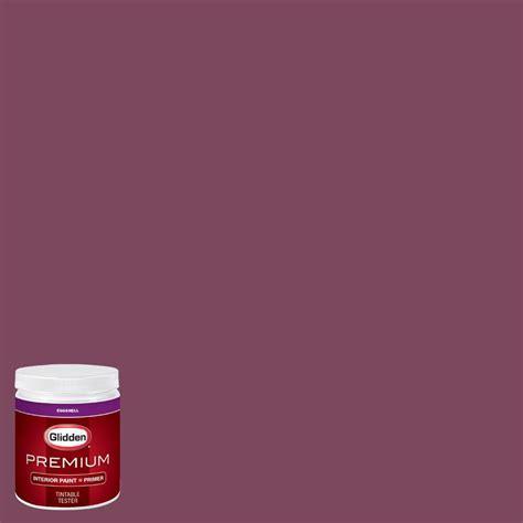 raspberry bathroom paint glidden premium 8 oz hdgr26u raspberry kiss eggshell