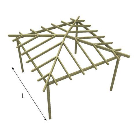 progetto gazebo in legno gazebo in legno quadrato pergola gabriel