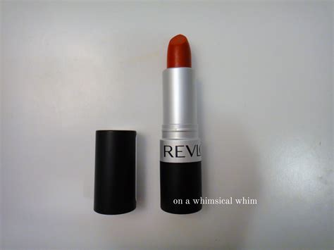 Lipstick Revlon Really on a whimsical whim revlon matte lipstick 006 really