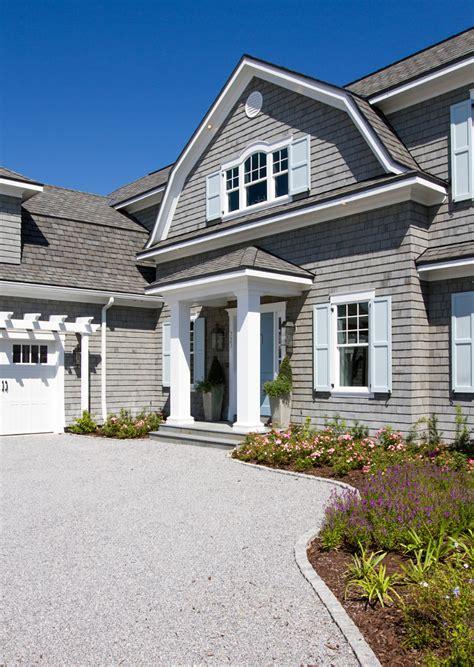 shingle style gambrel house home bunch interior