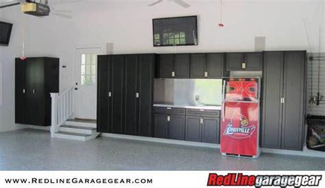 Garage Cabinets Installed 1000 Images About Garage Cabinets On Redline