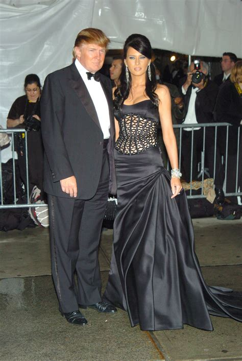 donald trump met gala donald trump actually proposed to melania on the night of