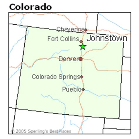 johnstown colorado map best places to live in johnstown colorado