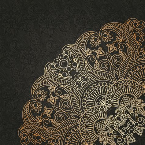lace pattern hd lace decorative pattern vector background 05 vector