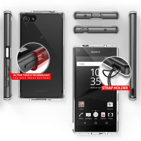 Rearth Ringke Sony Xperia Z5 Fusion Xperia Z5 Smoke Bla Berkualitas rearth ringke fusion sony xperia z5 compact smoke black