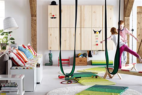 ikea indoor swing playroom ideas for the living room