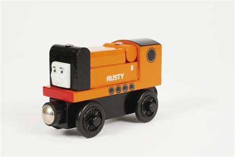 wooden railway engines