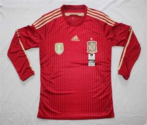 Adidas Spain Home Jersey Original Word Cup 2014 Size M image gallery spain jersey 2014